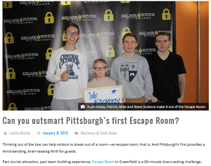 Escape Room PGH - Next Pittsburgh