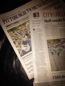 Tribune Review Escape Room Pittsburgh Article
